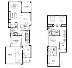 Narrow Home Plans Designs Narrow Lot Double Storey House Designs Perth Apg Homes