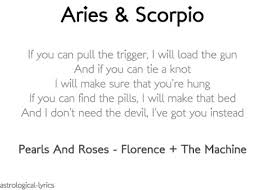 40 Quotes About SCORPIO ARIES Relationships Scorpio Quotes Custom Aries Quotes