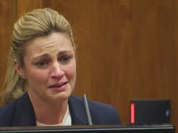Fox Sports Erin Andrews breaks down in court testifying in nude.