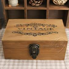 2018 z vintage wool solid wood lockable storage small wooden box jewelry box storage box tool box from linco812 43 28 dhgate com