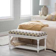 Padded Benches Living Room Upholstered Benches For End Of Bed