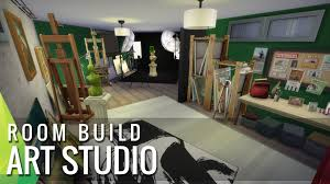 The Sims 4 Room Build Art Studio