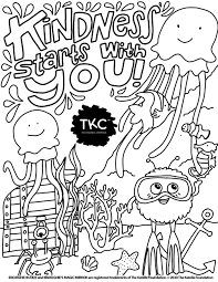 You can find so many unique, cute and complicated pictures for children of all ages as well as many g. Ali Diaztello The Kindness Campaign Coloring Pages