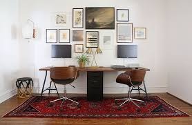 home office double desk. Long Double Desk With Storage Home Office A
