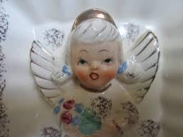 vintage relpo may birthday angel wall