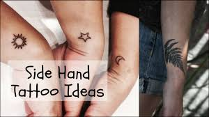 Designs For Hand Tattoos For Female Side Hand Tattoos For Women Small Tattoos Tattoo Designs