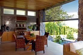 retractable screen patio. Retractable Screens Bring Outdoor Living - Okanagan Style Contemporary-patio Screen Patio