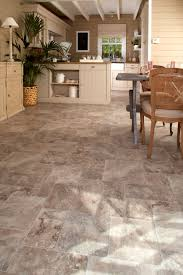 Kitchen Sheet Vinyl Flooring This Fashionable Yet Durable Sheet Vinyl Floor From Ivc Us Is