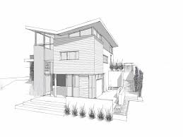 modern home architecture sketches.  Modern How To Draw A Modern House Lovely Until Home Architecture Sketches  Design Ideas With