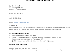 Child Care Resume Skills Free Resume Example And Writing Download