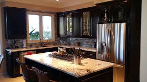 after kitchen cabinet refacing