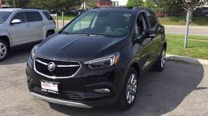 buick encore black. 2017 buick encore premium awd heated seats sunroof black oshawa on stock 171395 e