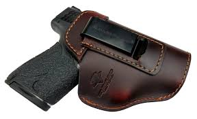 relentless tactical the defender leather iwb holster for s w m p shield glock 17 19 22 23 32 33 springfield xd xds plus all similar sized hands