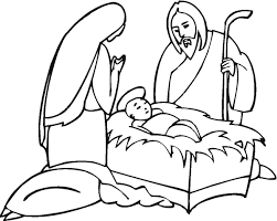 nativity coloring sheet christmas nativity coloring pages wallpapers9