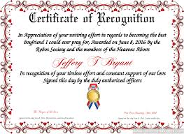 Certificate Of Appreciation Text Certificate Of Recognition Free Certificate Templates You