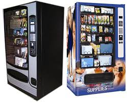 Vending Machines That Sell School Supplies