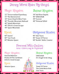 Magic Kingdom Ride Height Chart Disney World Ride Height Chart Inspirational How To Know