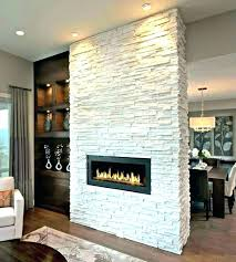 stacked stone veneer fireplace installing s kit tv m stone around fireplace stacked