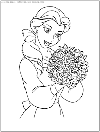 Free Coloring Princess Pages Photo 6