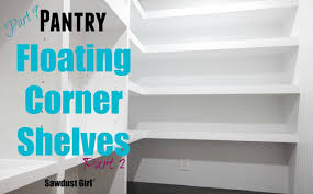 Building closet shelves Floating Shelves Deutschlandradioinfo How To Build Diy Lshaped Floating Shelves part 2 Youtube