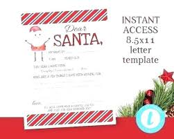 Free Letter From Santa Word Template Free Letters To Printable Reply Letter Template Santa Word Uk