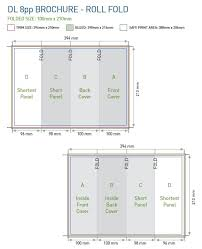 Trifold Brochure Size Dl Flyer Specs Ohye Mcpgroup Co
