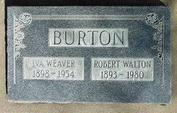 Iva Weaver Burton (1898-1954) - Find A Grave Memorial