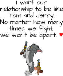 Download Tom And Jerry Relationship - Love Quotes About Tom And Jerry -  Full Size PNG Image - PNGkit