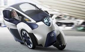 Is Toyota's 3-Wheel iRoad the Future of Cars? - CES 2014 - YouTube