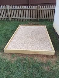 here is an outdoor dog potty created by tony s bc canada he writes my area was about 85 sq ft in size i used 1 round rock for the 1st layer about