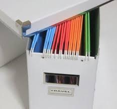 hanging file box. Hanging File Box