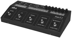 chauvet footc2 dmx foot controller