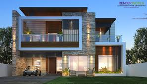 Revit Architecture Modern House Design Modern Elevation Modern Architecture House Exterior