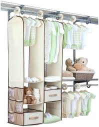 hanging closet organizer with drawers. Hanging Closet Organizer With Drawers Nursery  Storage Furniture White Picture