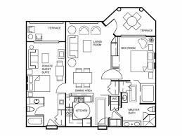 2 bedroom hotel suites in orlando florida. two bedroom floor plan for hilton grand vacations at seaworld in orlando, florida 2 hotel suites orlando
