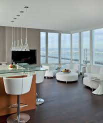 clear glass pendant lights. Clear Glass Pendant Light Living Room Contemporary With Breakfast Bar Corner Windows Lights