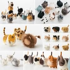 <b>Jiwuo Wool Felt</b> Animals Dog Puppy Handmade Felt Craft Poked ...