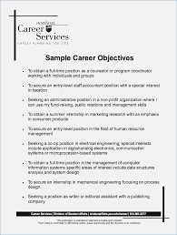 Great Objectives For Resumes Best Job Objectives for Resume globishme 40
