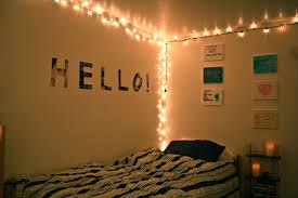 white string bedroom ideas feats romantic string lights cool teenage boy bedroom ideas with string light along