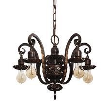 spanish revival lighting. SOLD Spanish Revival Chandelier In Cast Iron, Antique Lighting. \u2039 \u203a Lighting V