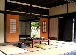 Japanese Living Room Charming Japanese Interior Design With Rattan And Wood Material