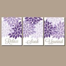 bathroom wall art canvas or prints purple lavender relax soak unwind dahlia flower burst choose colors on lavender bathroom wall art with bathroom wall art canvas or prints purple lavender relax soak unwind