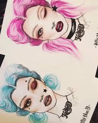 Pin By Sarah Trizzino On Art 2 Makeup Face Charts Kat Von