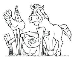 New Farm Animal Coloring Sheets Dubaitransportme