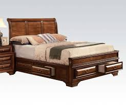queen sleigh king size platform bed with storage single sleigh bed ...