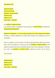 Resignation Letter Format Resignation Letter Format IndiaFilings Document Center 1