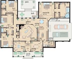 4 bedroom house plans. country style house plans 3042 square foot home 1 story 4 bedroom and 3 bath 2 garage stalls by monster plan 18473 pinterest