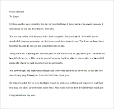 birthday love letters free 15 samples of love letters to boyfriend doc