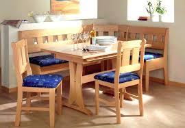 nook dining table set corner kitchen breakfast piece amp bench trestl
