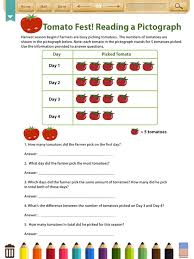 Kids Math:Graphs&Data Worksheets(Grade3) (iPad) reviews at iPad ...